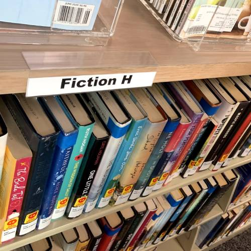 Library News - General - Books Fiction